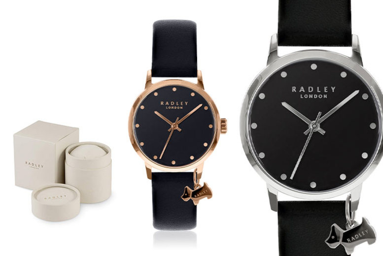 From £19.99 instead of £50 (from Brand Arena) for a Radley ladies' watch - choose from 15 designs and save up to 64%