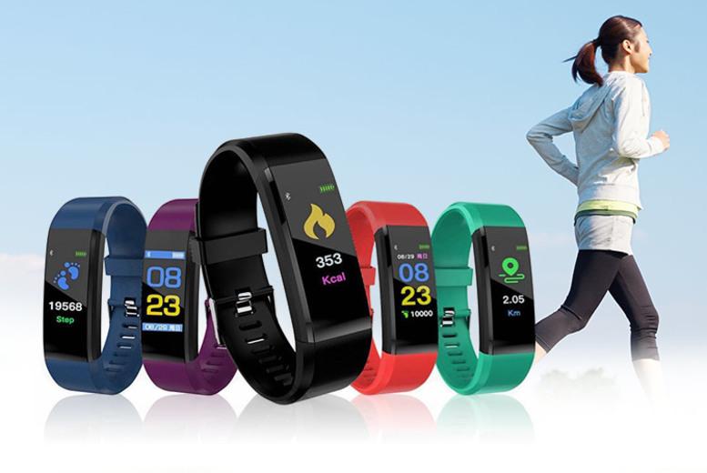 VeryFit Pro 20-in-1 Activity Tracker w/ HR & BP Monitor! (£12)