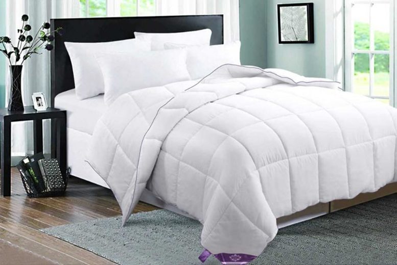 12 Tog Goose Feather & Down Duvet – 4 Sizes! (£29.99)