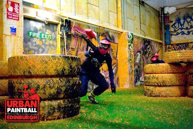 £4 for 3 hours of indoor paintballing for up to 4 people, £9 for up to 10 ppl  or £14 for up to 20 ppl at Urban Paintballing - save up to 94%