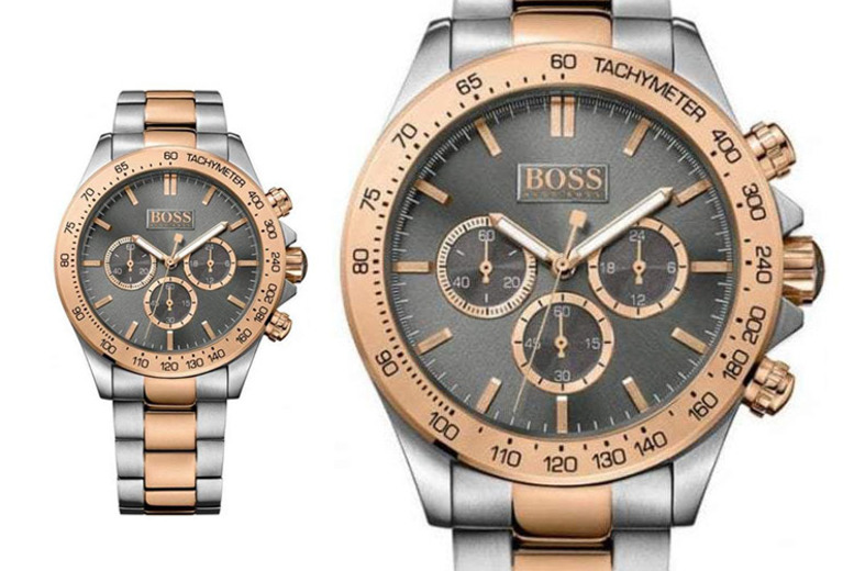 £129 instead of £399 (from Best Watch Company) for a Hugo Boss men's Ikon two-tone watch - save 67%