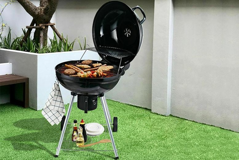 Large Kettle Barbecue Steel Grill (£19.99)