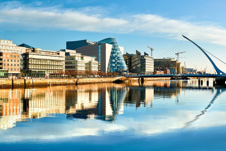 European City Breaks: 2-3nt Dublin City Spa Escape, Jameson Distillery Tour & Flights