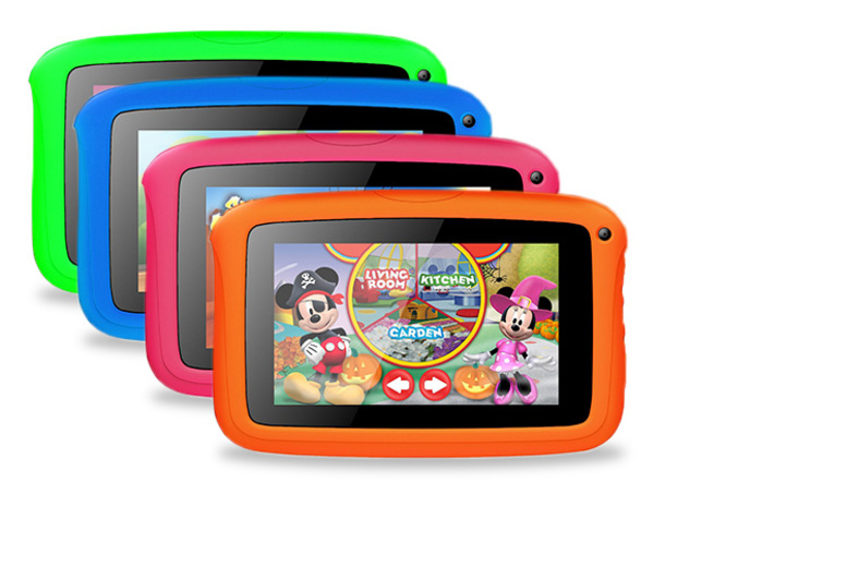 Quad Core HD 7 Kids Tablet with 1 Year Warranty  4 Colours!