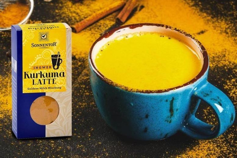60g Golden Turmeric Latte with Ginger - 1, 2, 3 or 4!