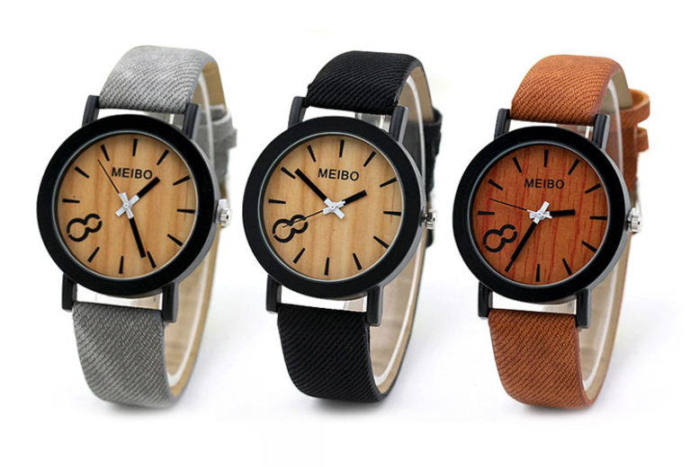 £5.99 instead of £18 (from Magic Trend) for a woodgrain effect watch - choose from three colours and save 67%