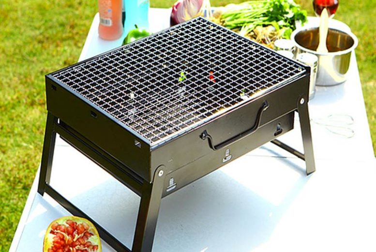 3kg Foldable Portable Barbecue (£27)