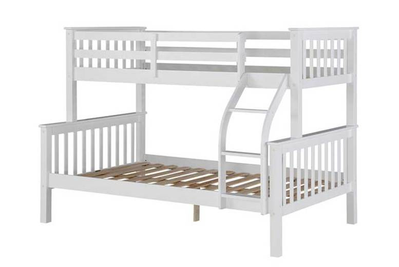 Triple Sleeper Bunk Bed with 2 optional Mattresses!