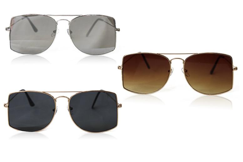 Daisy Aviator Style Sunglasses – 3 Colours! (£4.98)