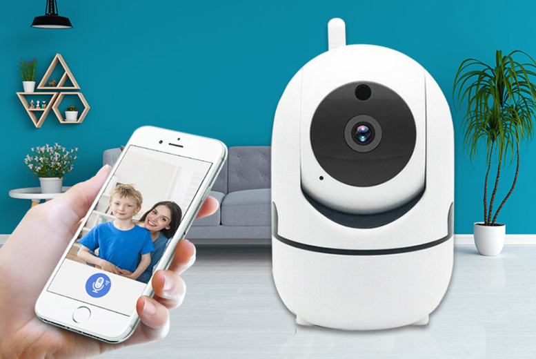 Home Security HD Tracking WiFi IP Camera (£21.99)