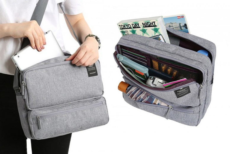 Multi-Compartment Travel Bag – 6 Colours! (£7.99)