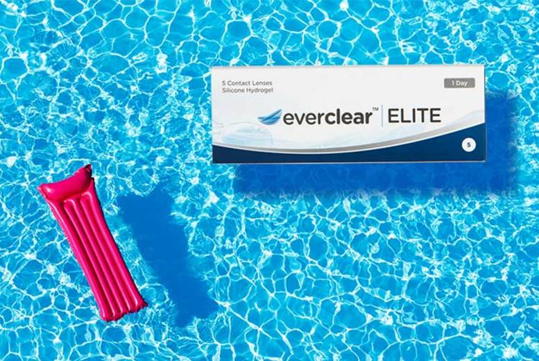 10 Day Pack of Everclear Elite Contact Lenses (£0.99)