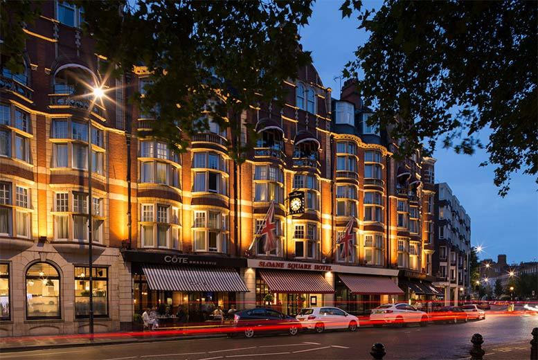 £36 instead of £72 for afternoon tea for two people at Sloane Square Hotel from Buyagift - save 50%