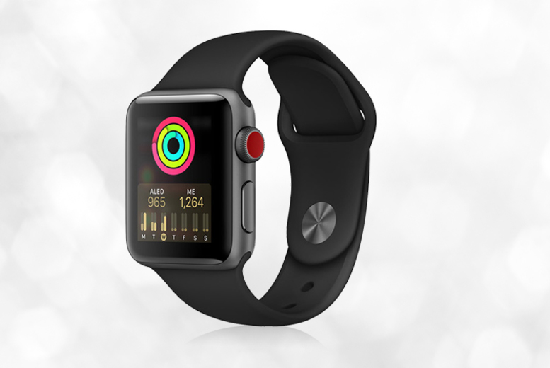 16GB Cellular Apple Watch Series 3 - 2 Sizes & 3 Colours!