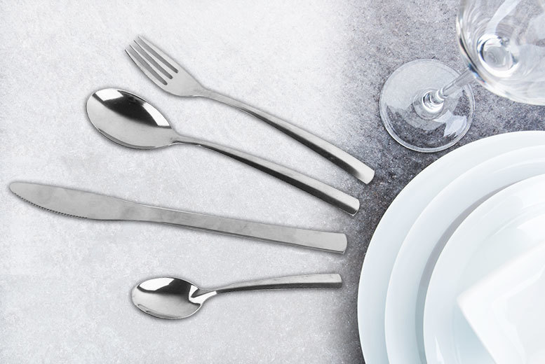 32-Piece Stainless Steel Cutlery Set