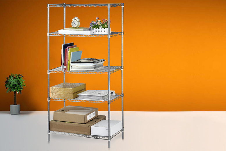 £24.99 instead of £119.99 (from Deals Direct) for a five-tier shelving unit - save 79%