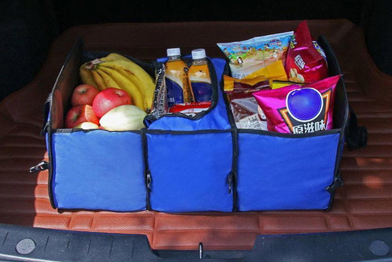 Foldable Tidy Boot Trunk – 3 Colours! (£9)