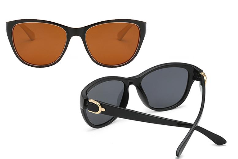 Polarised Cat Eye Sunglassess – 2 Colours! (£5.99)