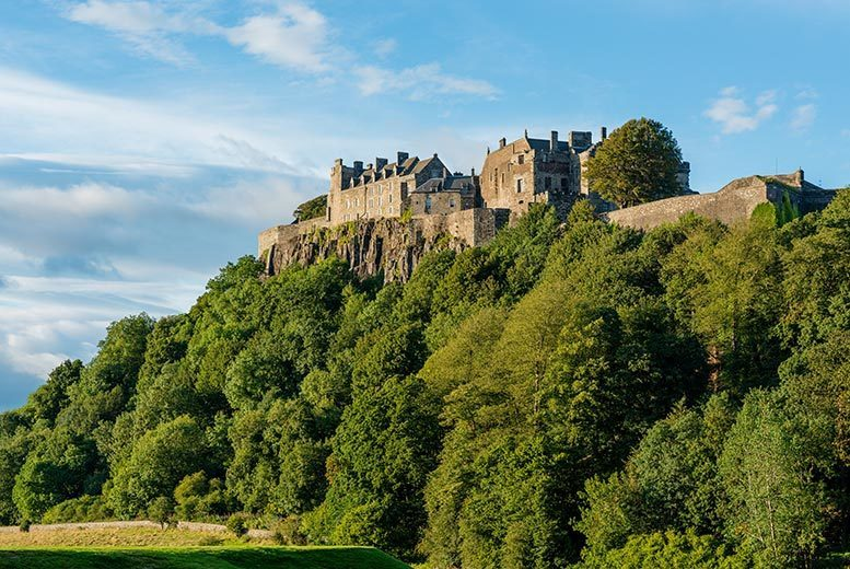 £129 instead of up to £183.50 (at The Stirling Highland Hotel) for an overnight break for 2 in a standard room, dinner & Champagne, £159 in a deluxe room - save up to 30%