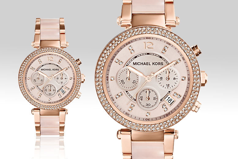 £119 instead of £272.01 (from The Watch Supermarket) for a Michael Kors ladies' watch - save 56%