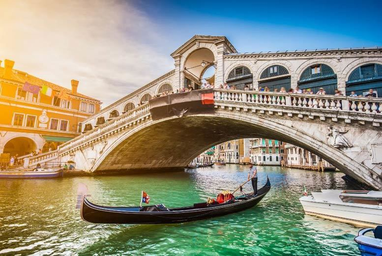 European City Breaks: 2-3nt 4* Venice Holiday with Flights & Chance to Win Rome Trip