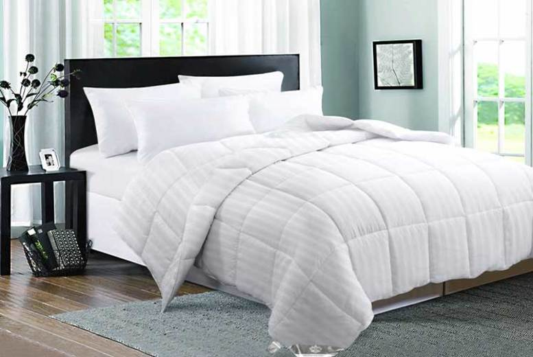 15 Tog Goose Feather & Down Duvet – 4 Sizes! (£31.99)