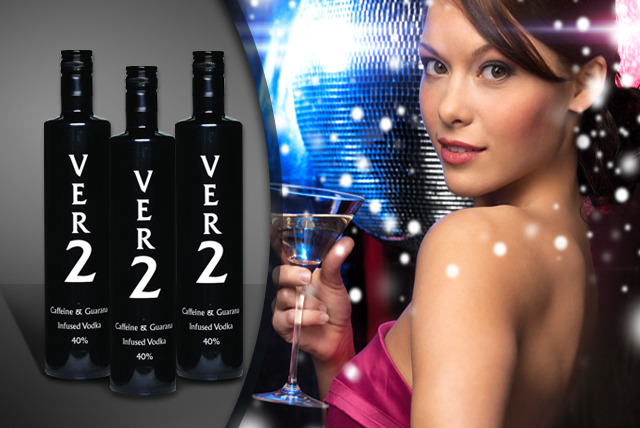 £16.99 instead of £34 (from Ver2 Vodka) for one 70cl bottle of Ver2 caffeine and guarana-infused vodka, or £49 for three bottles - save up to 50%