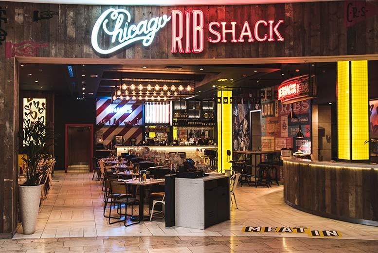 Restaurants & Bars: 3-Course Dining & Cocktails for 2 @ Chicago Rib Shack, Clapham