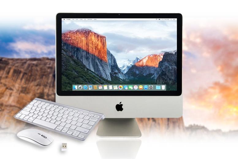 Apple 20 iMac 4GB RAM 160GB HDD w/ Wireless Mouse & Keyboard