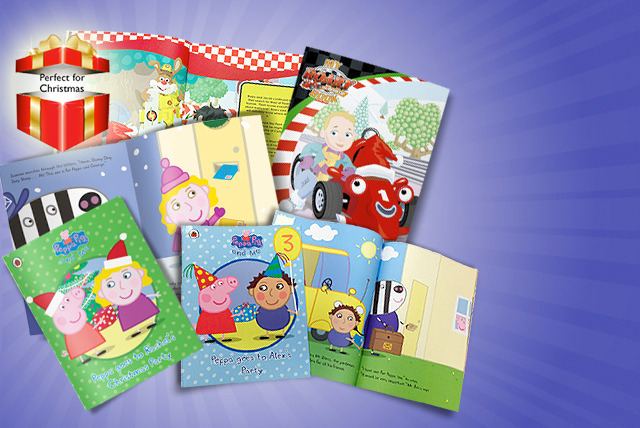 £7.99 (from Pen Wizard) for a personalised children's softback book inc. choice of Peppa Pig theme and more, or £9.99 for a hardback - save up to 47%