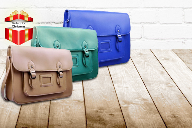 £19.99 instead of £71.99 (from Pearl Fashion) for a stylish faux-leather satchel bag - save 72%