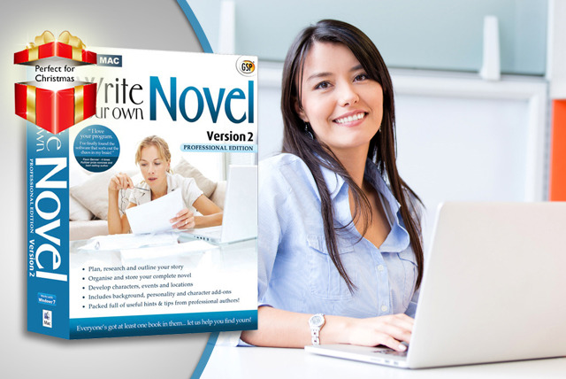 £9.99 instead of £27.64 (from Avanquest Software) for Write Your Own Novel Professional v2 software - unleash your creativity and save 64%