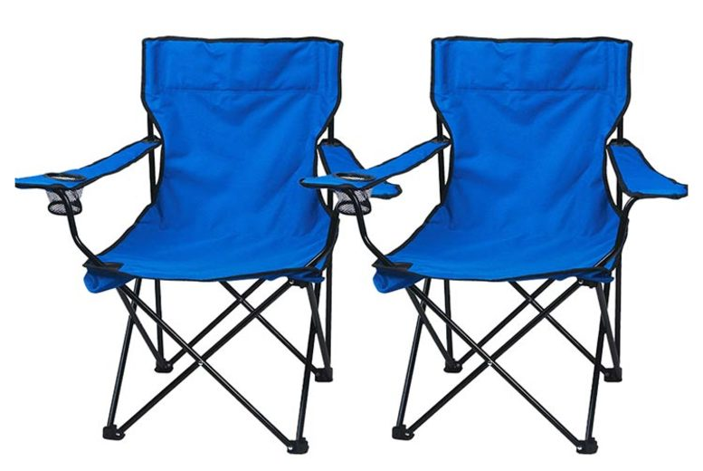 One or Two Folding Camping Chairs - 3 Colours!