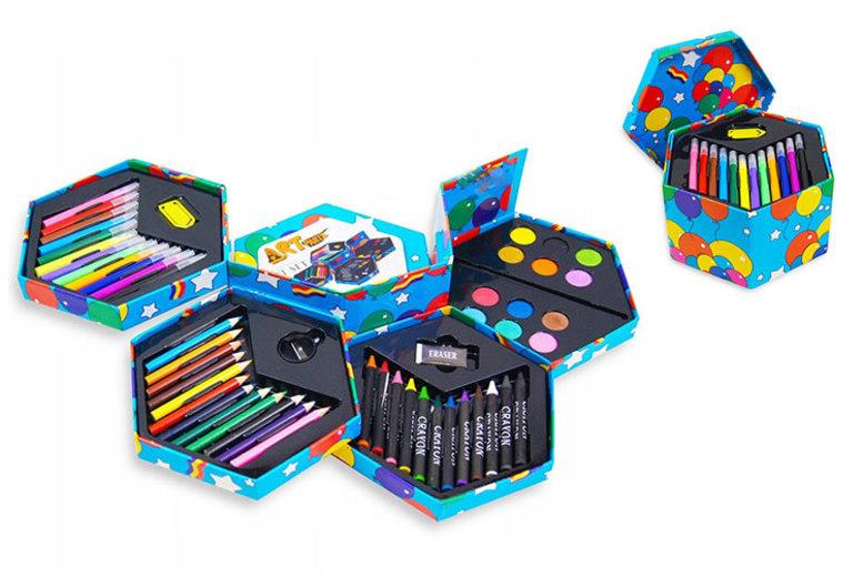 Childrens 52Pc Arts & Crafts Set