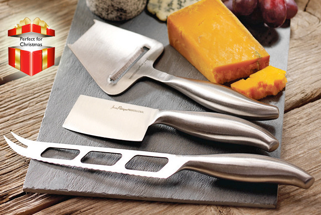£12 instead of £69.99 (from Jean-Patrique) for a Tuscany slate cheeseboard & knife set - save 83%