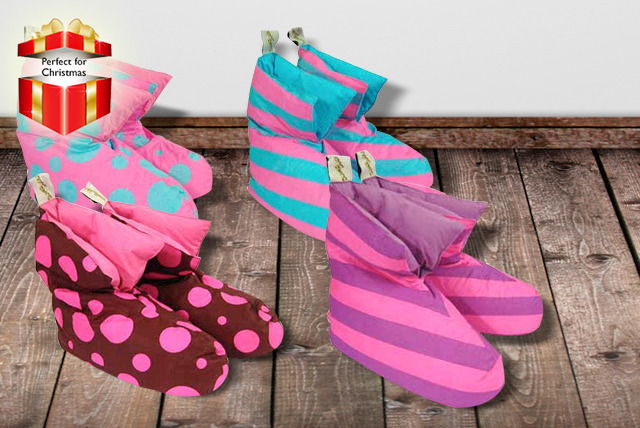 £7.99 instead of £19.99 (from Urshu) for a pair of 'Duvet Ducks' down slippers in a choice of designs - save 60%