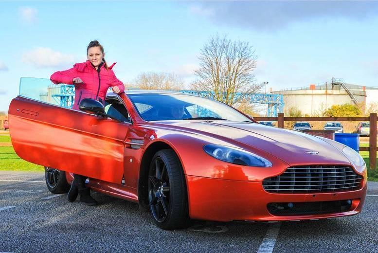 Activities: 3-Lap 'James Bond' Aston Martin Driving Experience - 6 Locations!