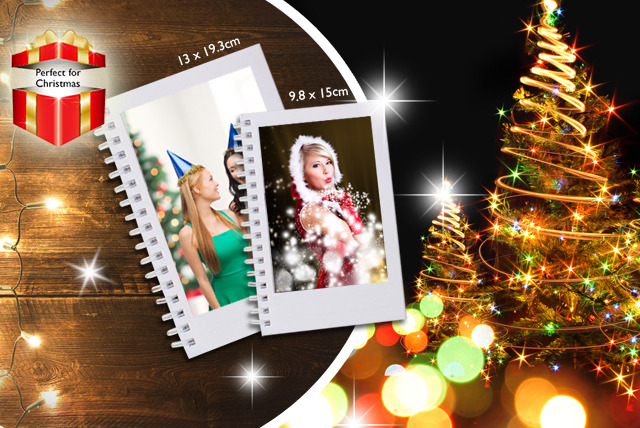 £6.99 instead of £12.99 (from Huggler.com) for a small personalised photo diary, or £7.99 for a large - save up to 46%