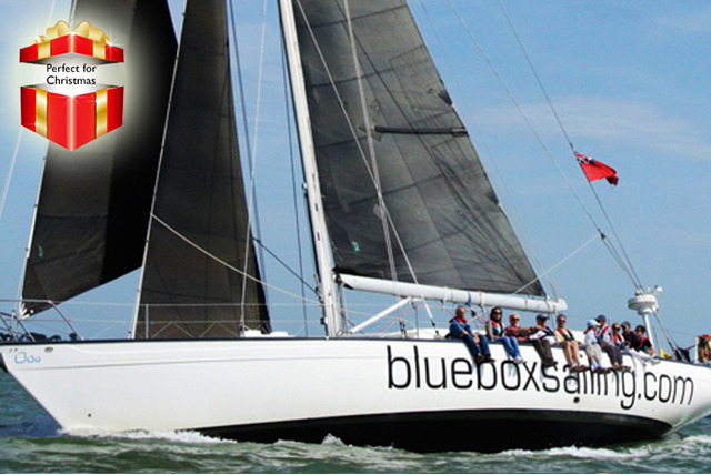 £69 instead of £129 for a Solent yacht sailing experience from Blue Box Sailing, Southampton - save 47%
