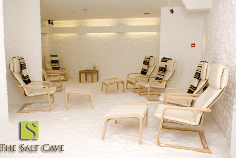 £10 instead of £35 for a one-hour salt therapy session at Edinburgh Salt Cave - save 71%