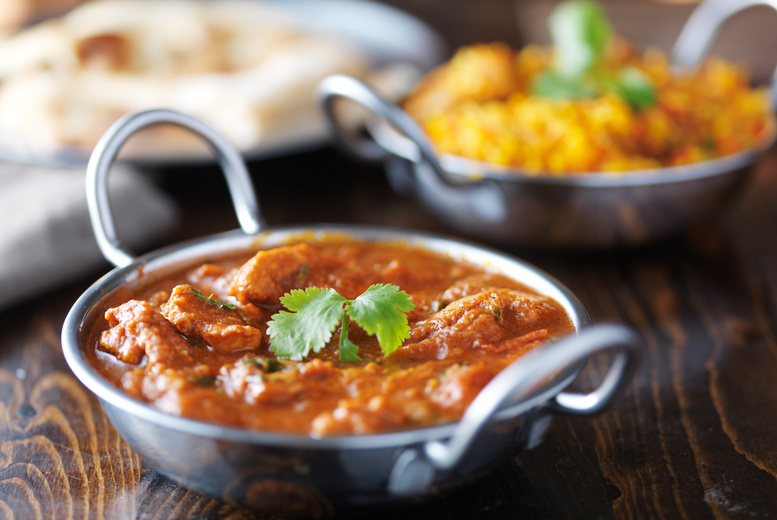 £19.99 instead of up to £40.35 for an Indian meal for two including a main dish and side each and bites to share from Mogal E Azam, Derby - save up to 50%
