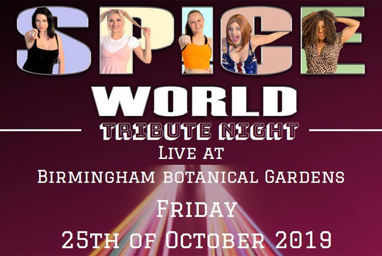 Restaurants & Bars: Spice Girls Tribute Night & 2-Course Dining @ Botanical Gardens