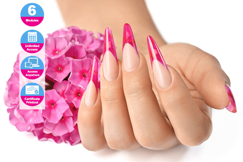 Online FreeForm Nail Sculpting Diploma