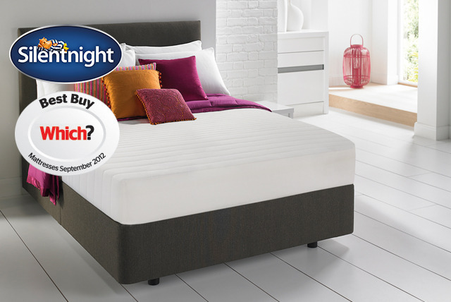 £99 for a single Silentnight memory foam mattress, £149 for a double, or £179 for a king size from Wowcher Direct - save up to 55%