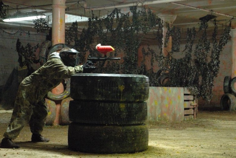 £3 instead of £60 for paintball for 5 from Manchester Paintball Arena - save 95%
