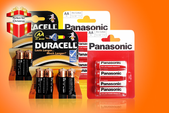 From £3.49 (from ClearChemist) for 12x AA Duracell or Panasonic batteries, from £6.99 for 24 or from £13 for 48 batteries - save up to 61%