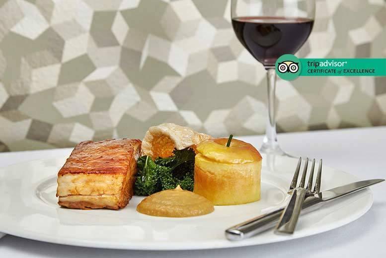 Restaurants & Bars: 3-Course Dining & Bottle of Wine for 2 @ 5* Hilton, Mayfair