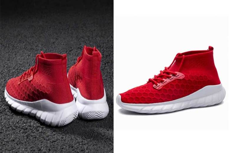 Mens HighTop Running Shoes  2 Colours & 5 Sizes!