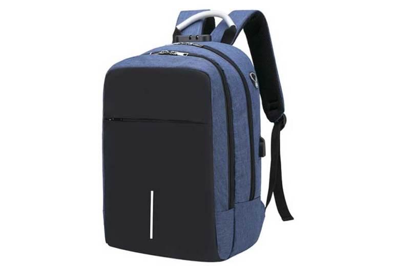 AntiTheft Backpack, Combo Lock & USB Charging Port  4 Colours!