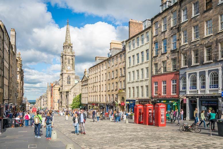 UK City Breaks: 1-2nt Edinburgh City Break, Breakfast & Flights